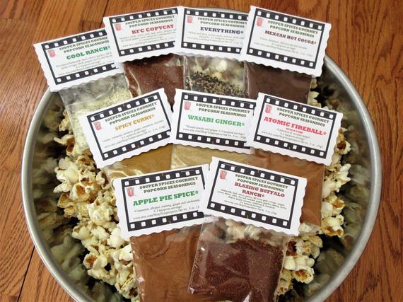 Popcorn Popcorn Seasoning Popcorn Mix Popcorn Flavor | Etsy