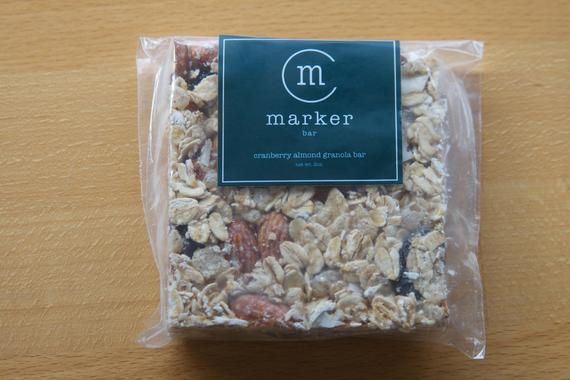 Cranberry Almond Granola Bar pack of 4   Etsy
