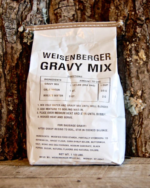 Weisenbergers Gravy Mix | Etsy