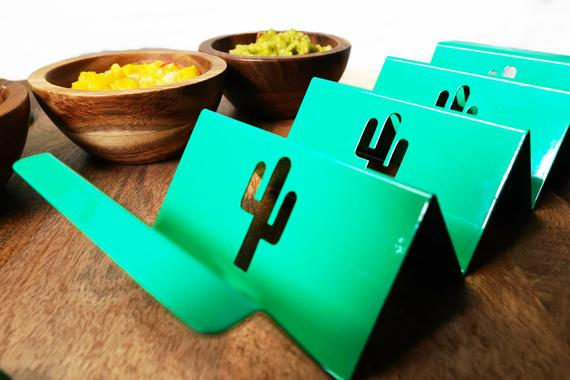 Biodegradable Taco Holder Plate. Colorful Taco Stand. Taco   Etsy