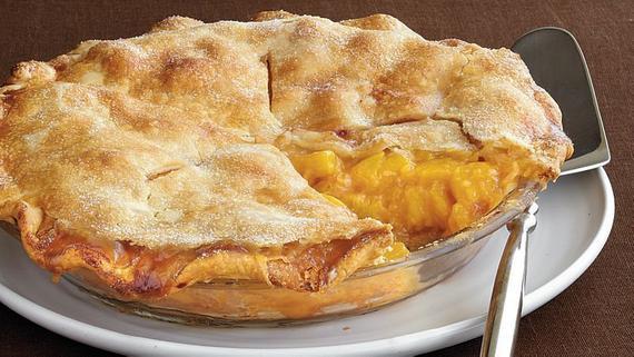 Southern Peach Pie Deep Dish 9 Inch Thanksgiving   Etsy
