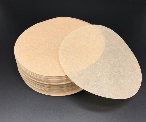 Natural Parchment Rounds Baking Paper 100 Sheets | Etsy