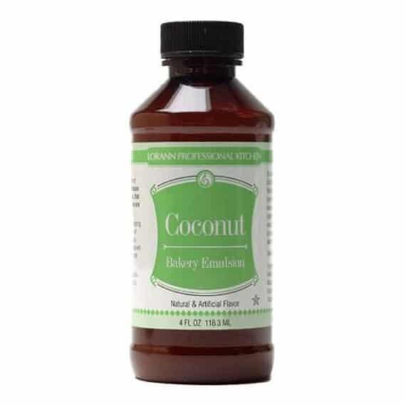 Coconut Bakery Emulsion 4 oz by Lorann | Etsy