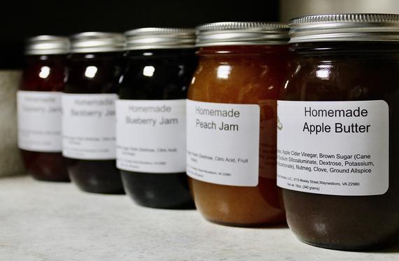 1 Pint Strawberry Jam Home-made   Etsy