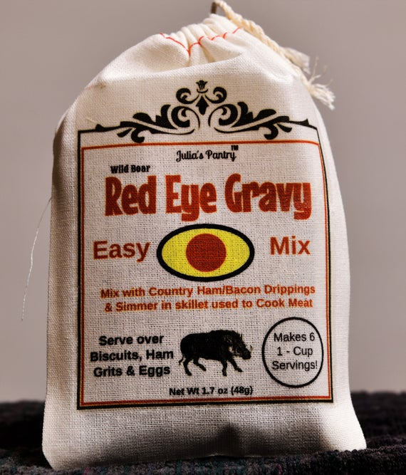 Julia's Pantry Red Eye Gravy Mix Just Add Water Easy | Etsy