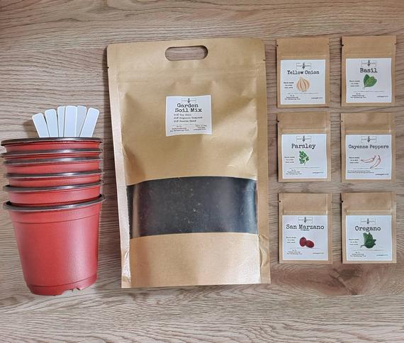 Grow your own Pasta Sauce kit | Etsy