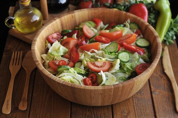Salad bowl Salad bowl Fruit bowl bamboo | Etsy