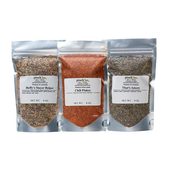 Pizza Lovers Organic Spice Bundle | Etsy