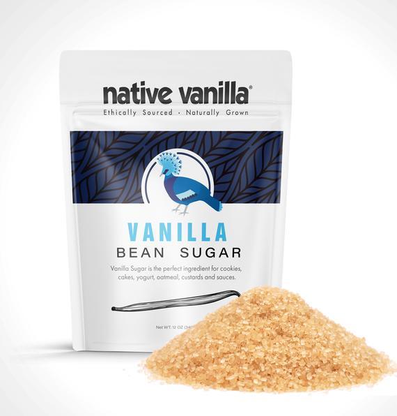 Organic Vanilla Bean Sugar | Etsy