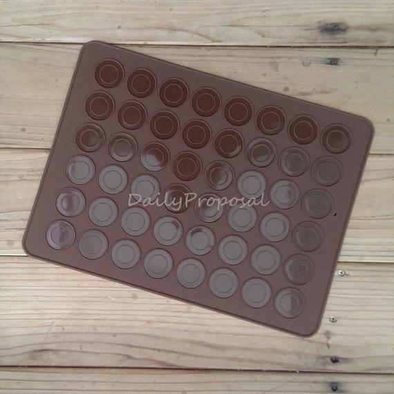 48 Count Silicone Baking Mat Sheet Liner Small Macaron   Etsy