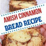 Cinnamon bread collage