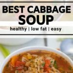 vegetable soup collage