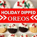 Dipped Oreos collage