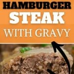 Hamburger steak collage