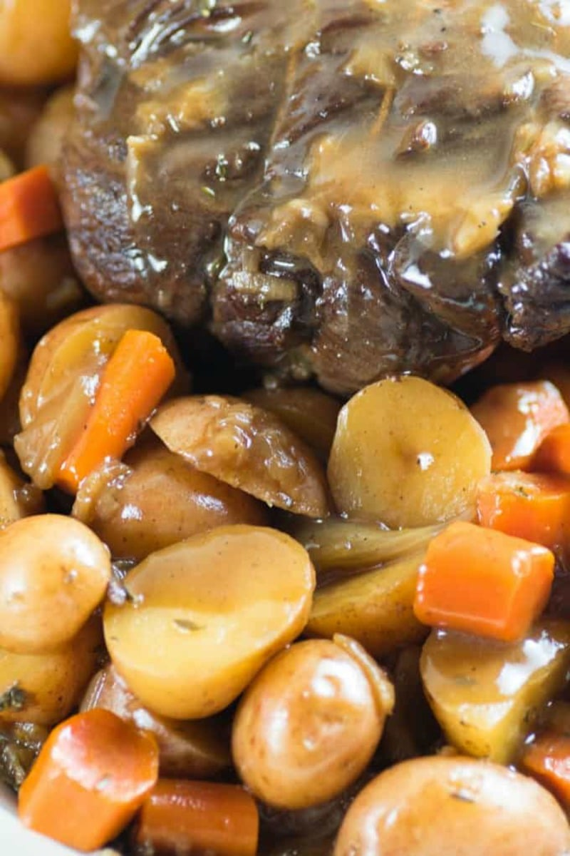 Pot roast with veggies