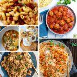 Instant Pot comfort foods collage