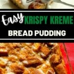 Bread pudding collage