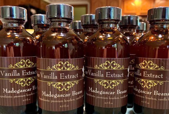 Bourbon Vanilla Extract 4oz | Etsy