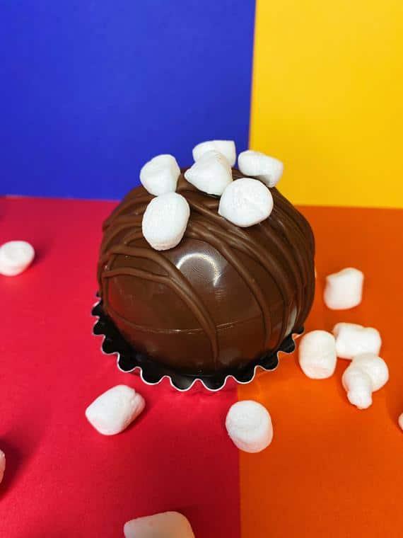 Hot Chocolate Bomb Milk Chocolate Marshmallow Hot Cocoa Bomb | Etsy