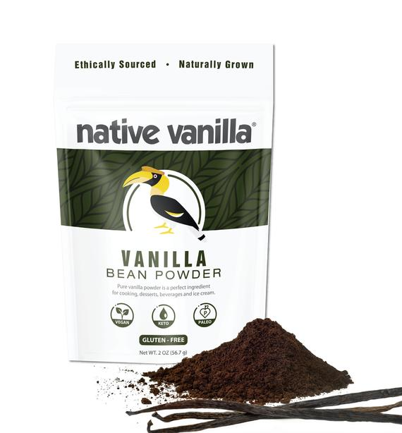 Vanilla Bean Powder Pure Ground Raw Vanilla Beans | Etsy