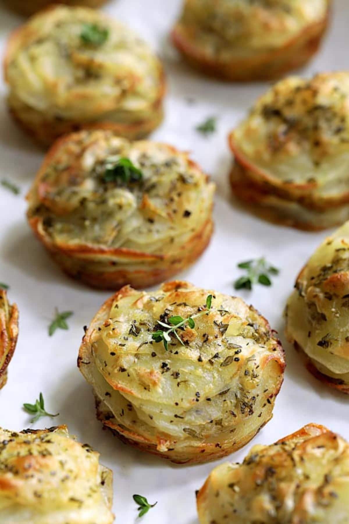 Potato galettes