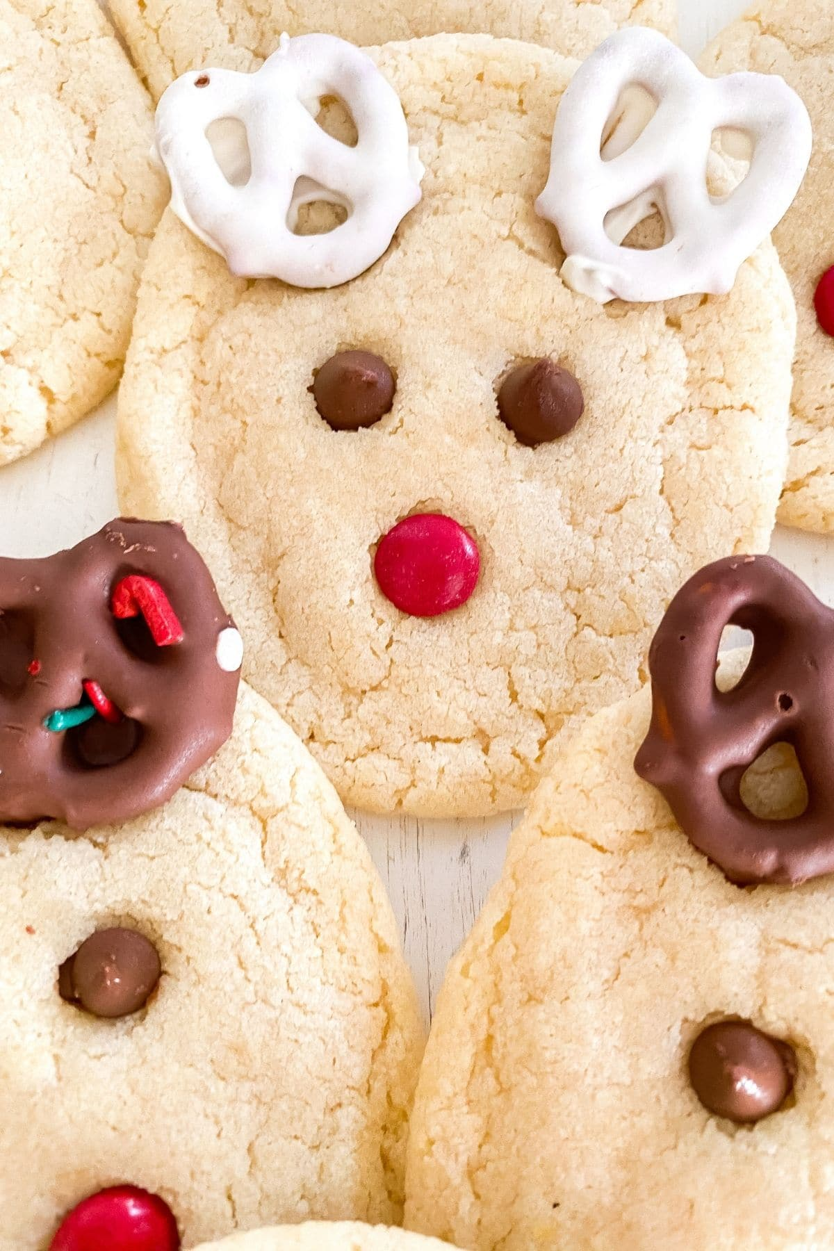 Close up of cookies