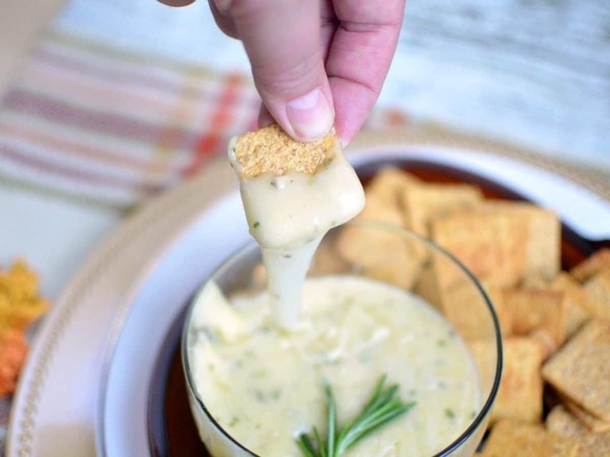 Brie in a bowl