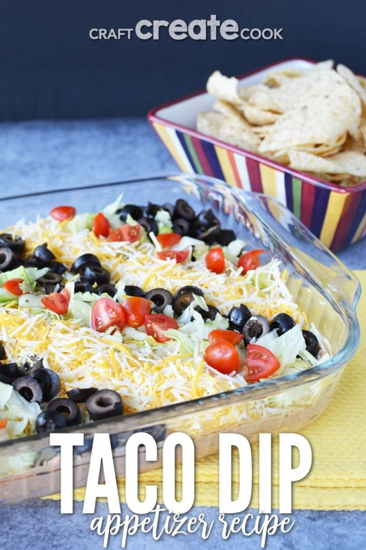 Taco layered dip