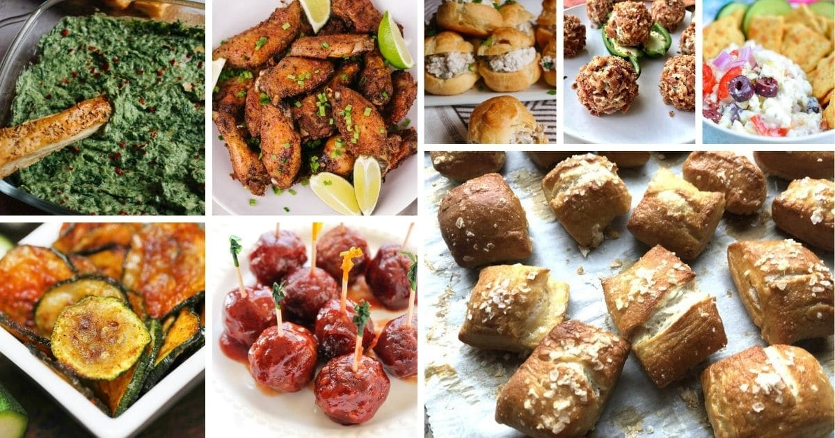 Best appetizers collage