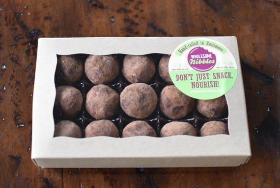 Vegan Espresso Almond Bliss Balls Truffles Gift Box | Etsy