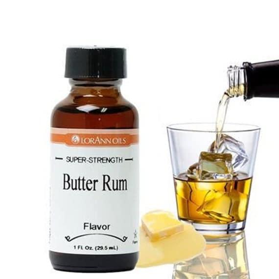 Butter Rum Flavor 1 oz by Lorann | Etsy