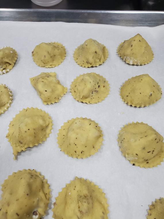Homemade Fresh Pasta Ravioli Made to Order 3 Pounds | Etsy