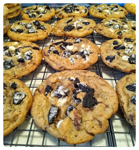 Holiday Gift. One Dozen Best Ever Oreo Chocolate Chip Cookies   Etsy