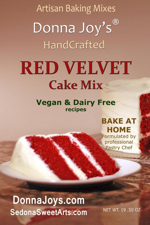 Red Velvet Cake Mix gourmet | Etsy