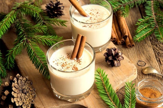 Eggnog Hot Chocolate Mix Gourmet Christmas Foodie Gifts | Etsy
