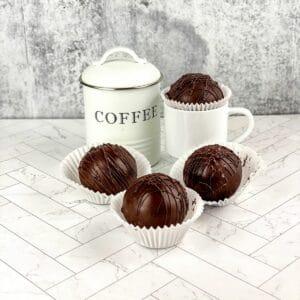 Cafe mocha coffee bombs by mug