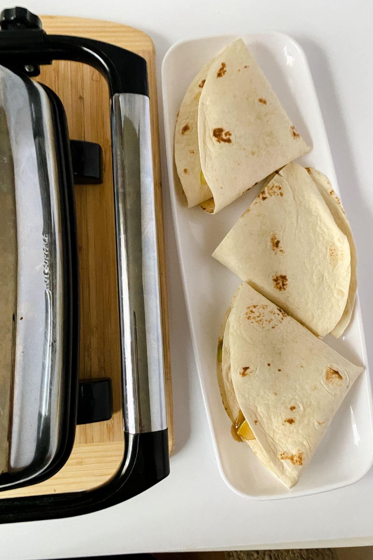 Wraps by panini press