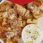 Plate of cauliflower gnocchi
