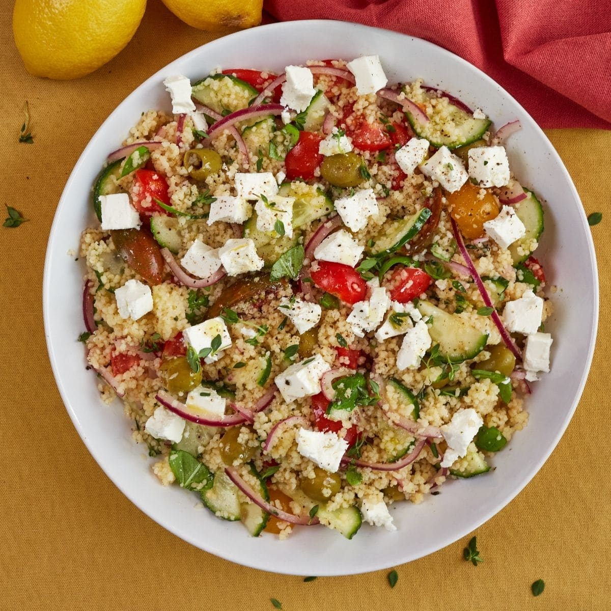 Light and Easy Mediterranean Couscous Salad Recipe