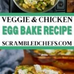 Egg bake collage