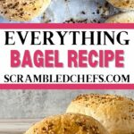 Everything bagels collage