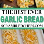 Garlic bread collage