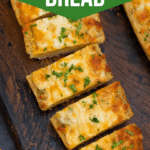Slices of garlic bread