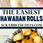 Hawaiian rolls collage