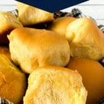 Basket of hawaiian rolls