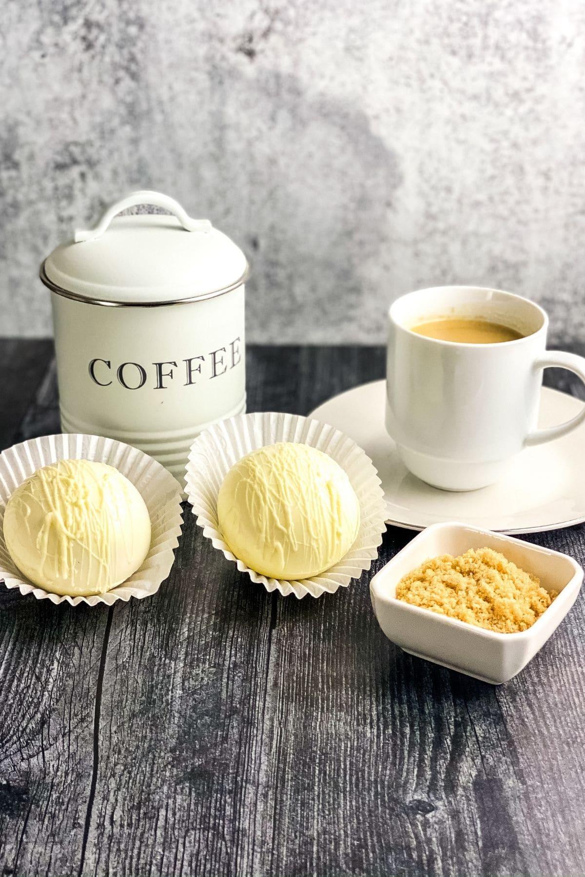 Coffee bombs by mug