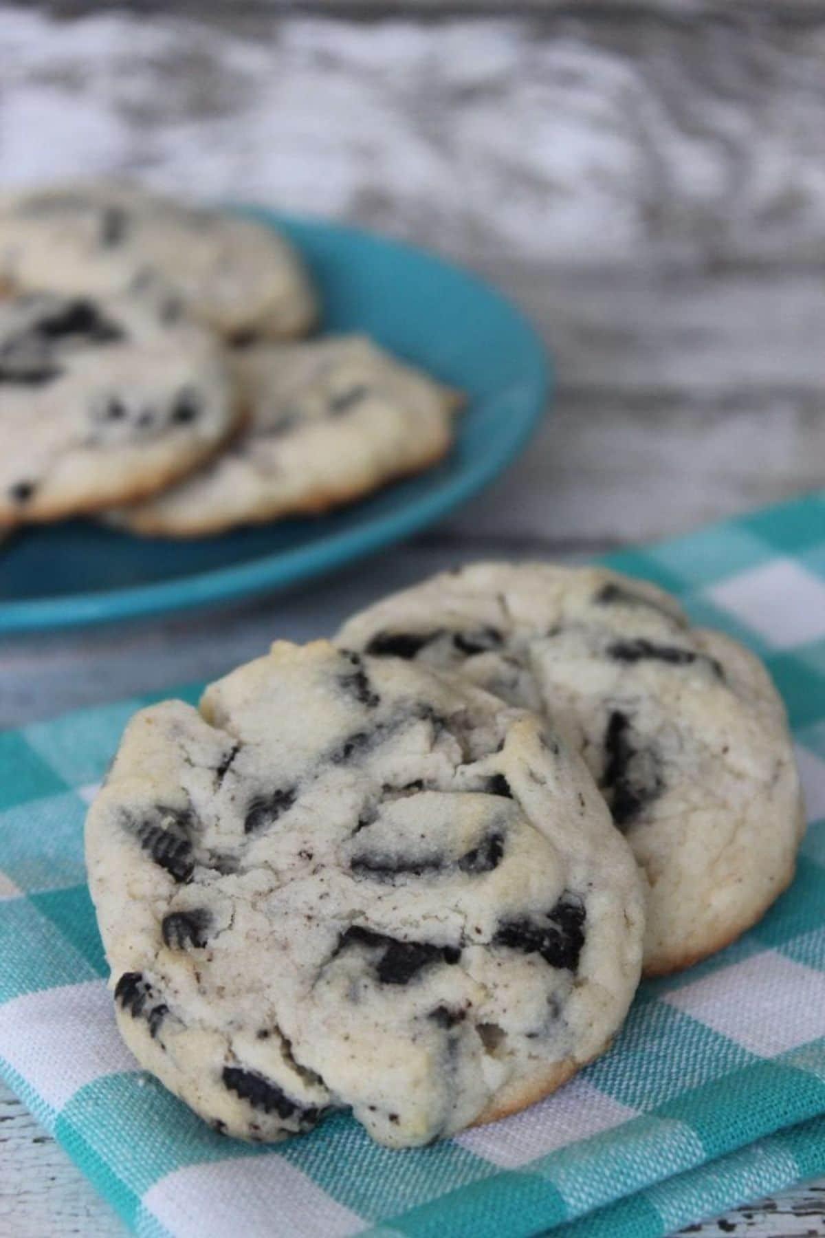 Oreo homemade cookie
