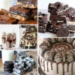 Oreo cookie desserts collage