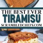 Tiramisu collage