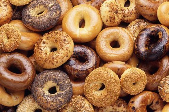 New York Bagels 24 Fresh 6 Plain 6 Sesame Seed 6 Everything 6 | Etsy